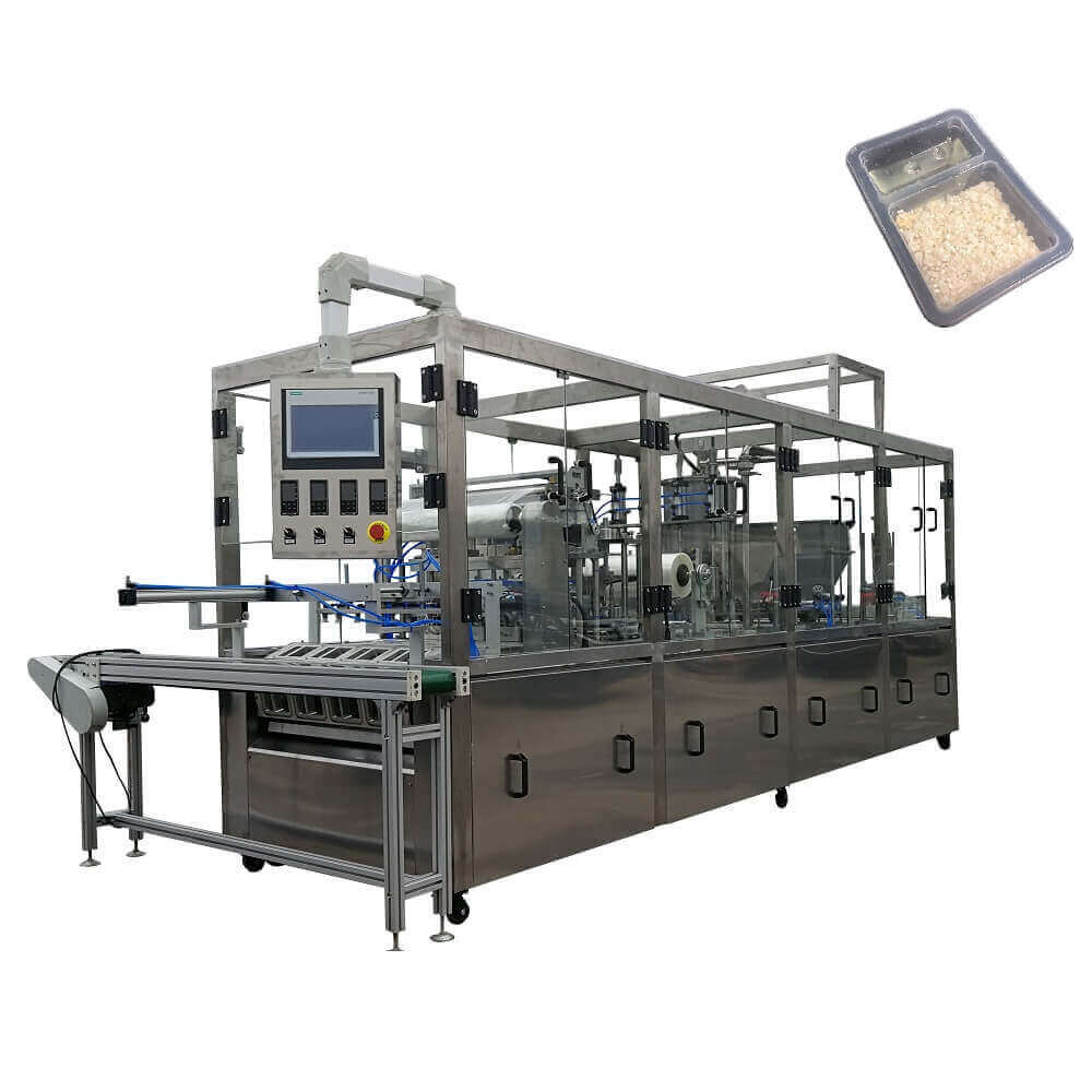 BHJ-4 automatic cup filling and sealing machine
