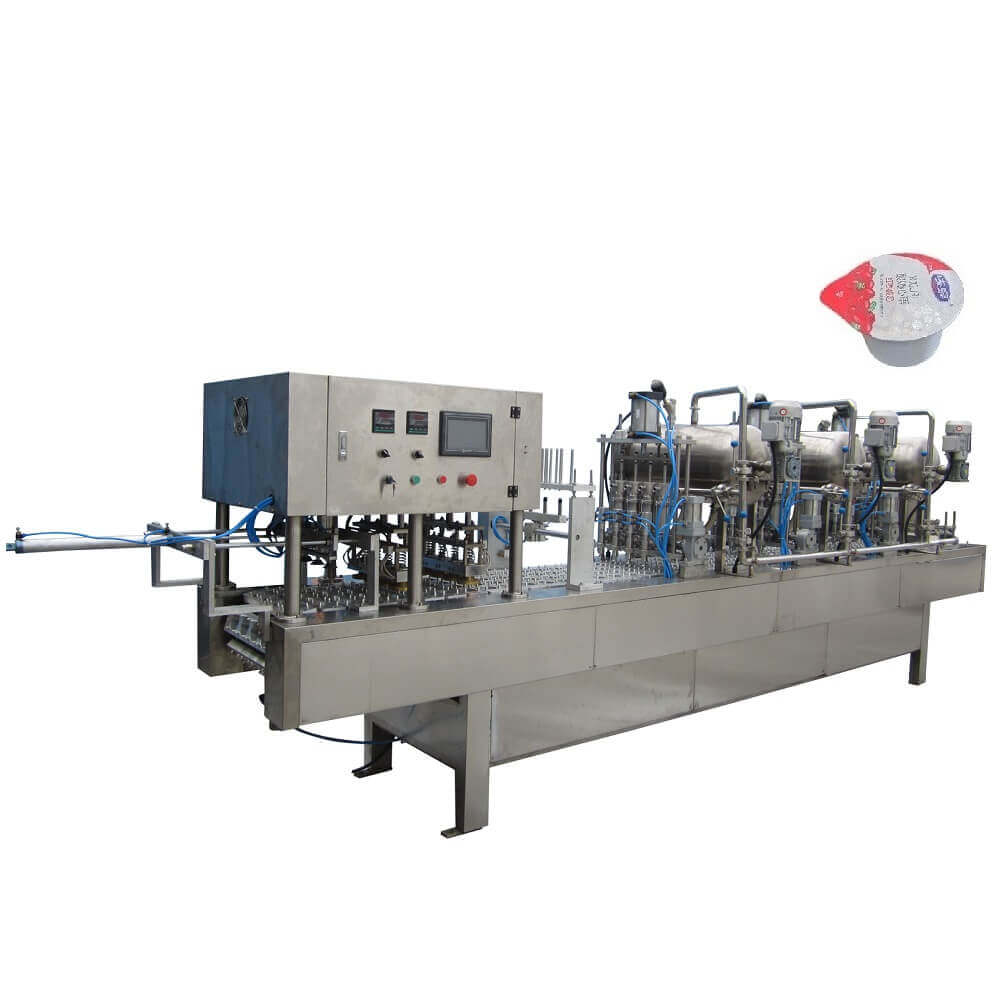 BHP-4 automatic cup filling and sealing machine for yogurt