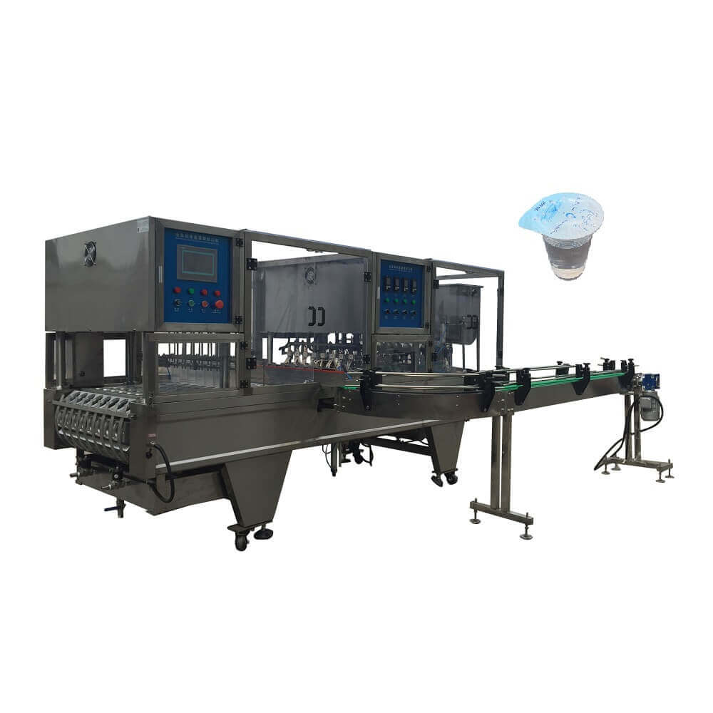 BHP-8 automatic cup filling and sealing machine for water with washing cup function