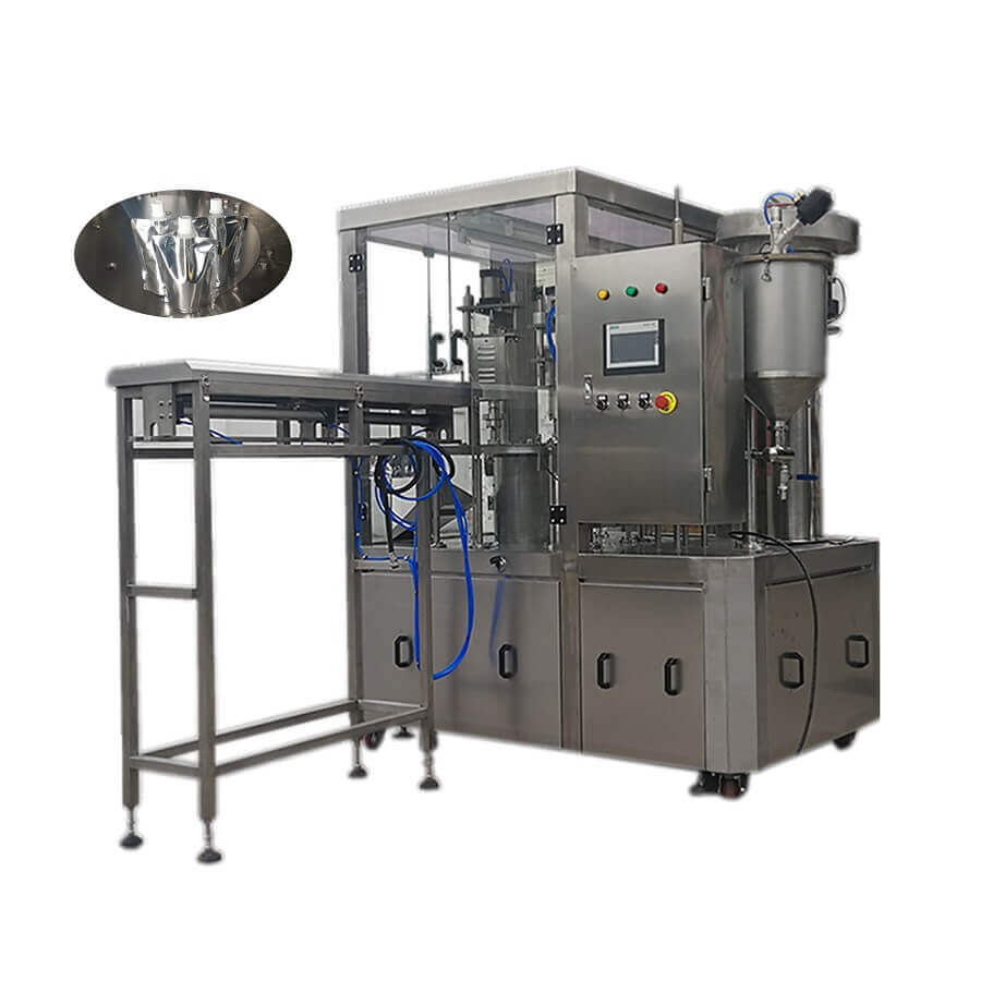 ZLD-1A Automatic spout pouch filling and capping machine