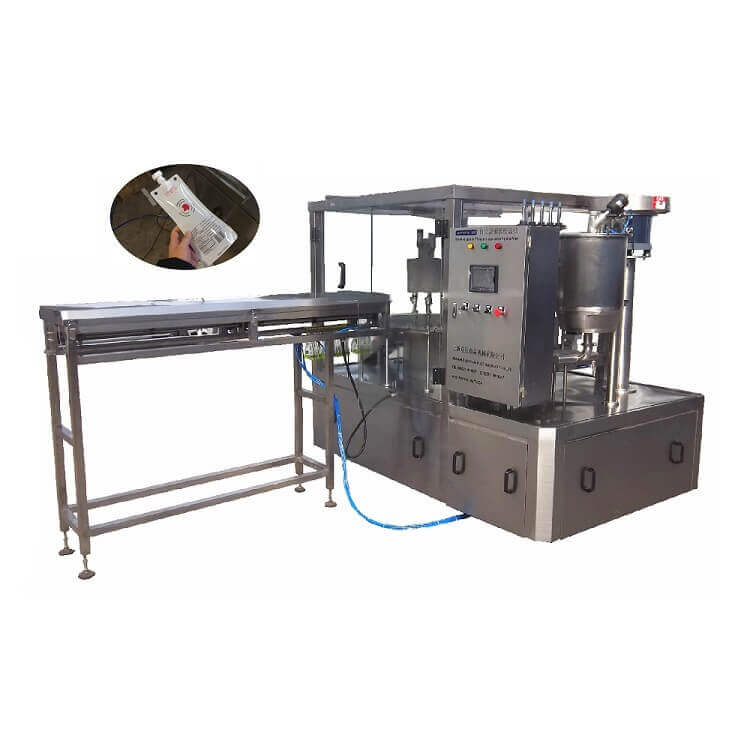 ZLD-3A Automatic spout pouch filling and capping machine