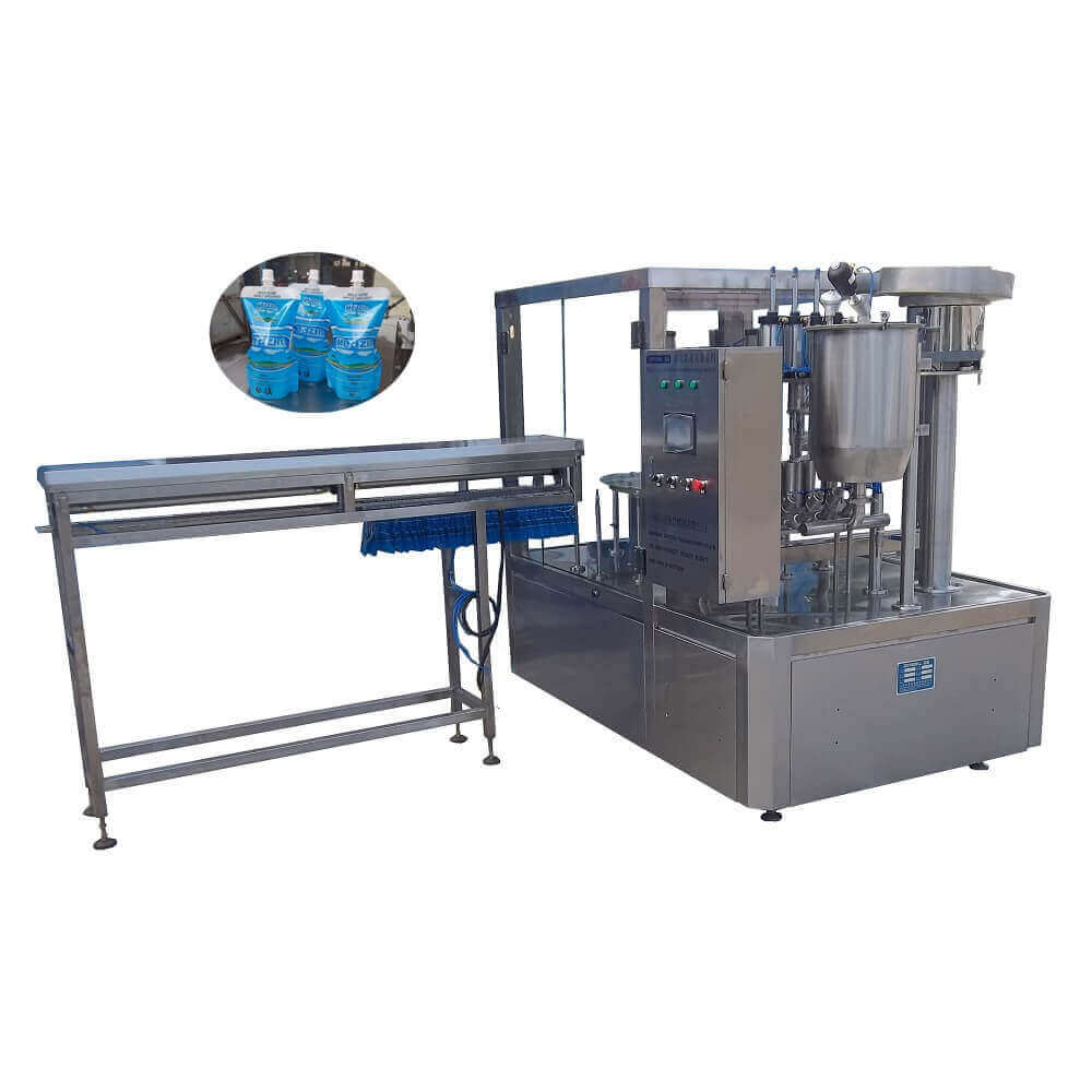 ZLD-4A Automatic stand up pouch filling capping machine